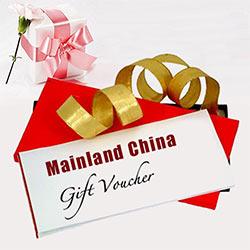 Mainland China Gift Vouchers Worth Rs.1000