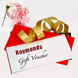 Amazing Rs.1000 Raymonds Gift Voucher