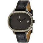 Scintillating Fastrack Watch for Women in Black Dial to Amberpet