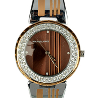 Creative Present of a Metal Wrist Watch for Women