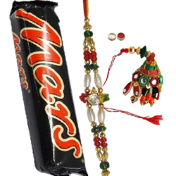 Arresting 1 Bhaiya N Bhabhi Rakhi With With Mars Chocolate