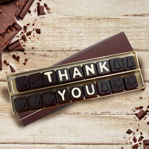 Say Thank You Homemade Chocolate