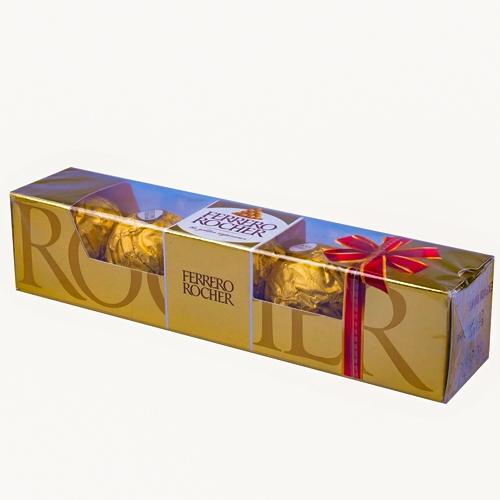 5 pcs Ferrero Rocher Chocolate Pack