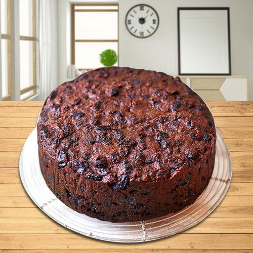 Gift Online Plum Cake from Taj or 5 Star Bakery