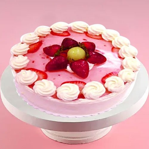 Appetizing Strawberry Cake