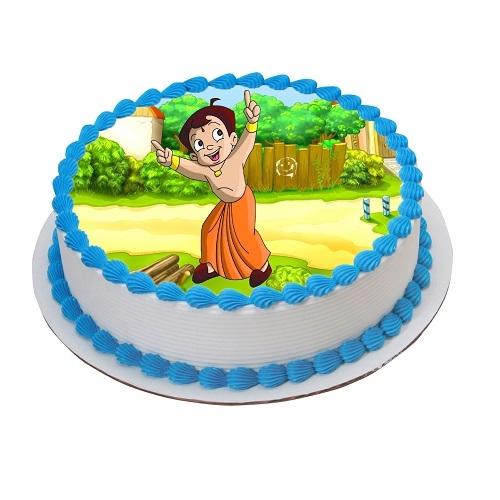 Gift Online Chota Bheem Cake
