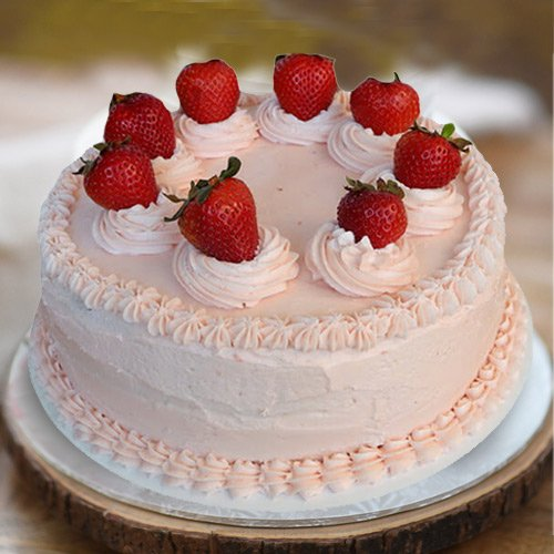 Gift Strawberry Cake from 3/4 Star Bakery Online