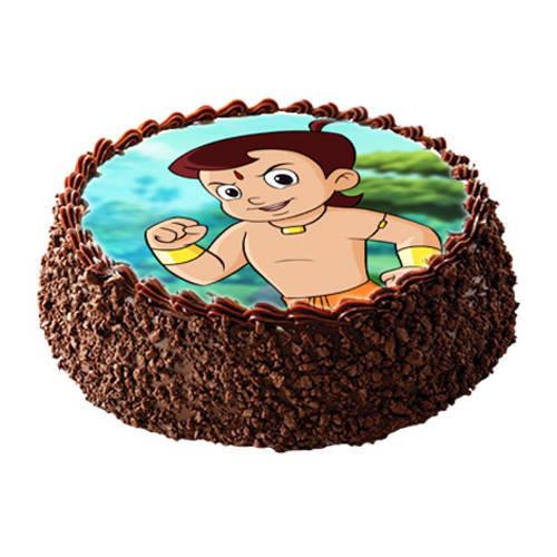 Book Online Chota Bheem Photo Cake for Kids
