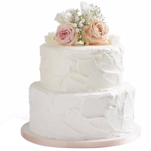 Send Online 2 Tier Wedding Cake