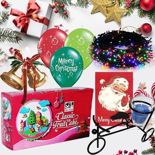 Fabulous Christmas Hamper with Enormous Happiness