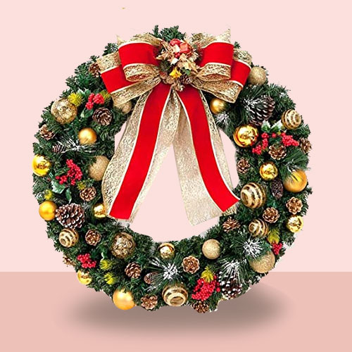 Enticing Christmas Wreath