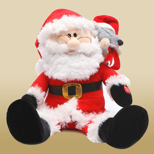 Cuddly Santa Clause Soft Toy