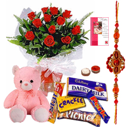 Sympthony of Love with Rakhi and Gifts<br>