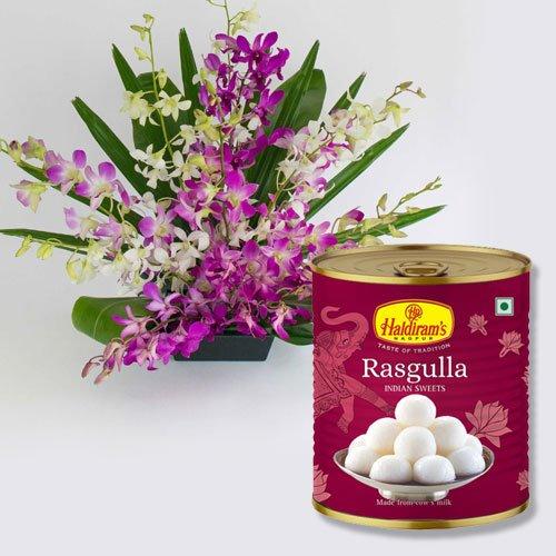 Orchid N Rasgulla.