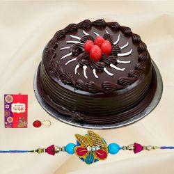 Tasty Cake in Happy Raksha Bandhan Day