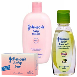 Awesome Combination of Baby Soap, Cream and Hair Oil