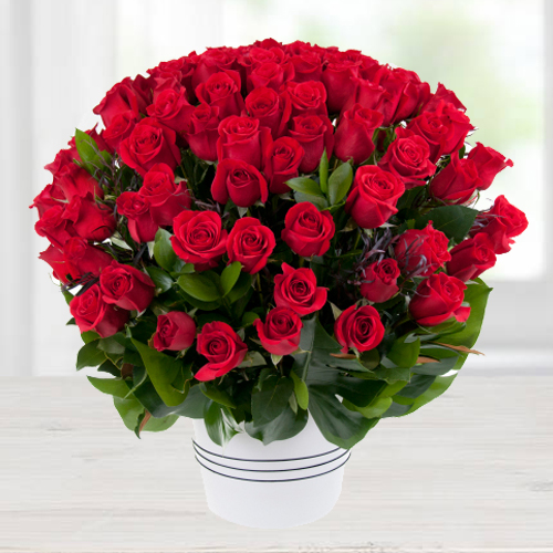 Order Gift of Red Roses Bouquet Online