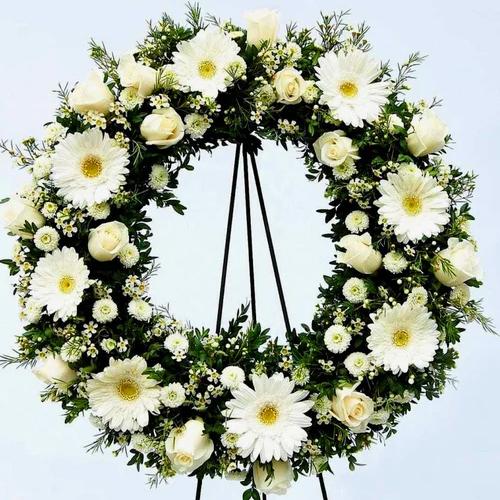 Gift Online Mixed Flower Wreath