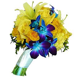 Deliver Online Seasonal Flowers Bouquet