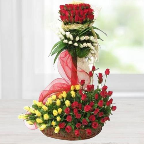Shop Arrangement of Roses Online