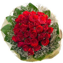 Order Online Bouquet of Red Roses