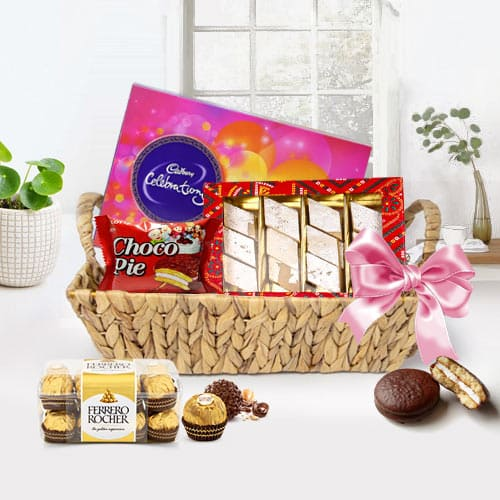 Exceptional Assorted Chocolates Gift Basket