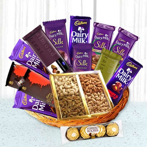Unique Treat Chocolate Hamper