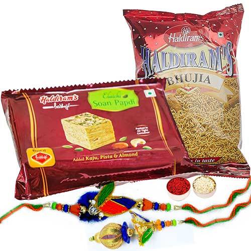 Bhaiya Bhabi Rakhi Sweets and Bhujia