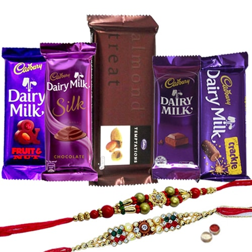 Ecstatic Gift of Tempting Cadbury Chocolates Hamper