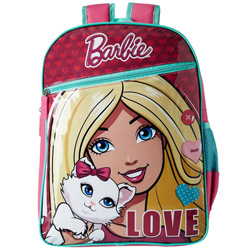 Eye-Catching Selection of Barbie Backpack in Pink and Blue <br>
