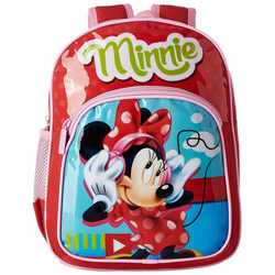 Smart Looking Kids Special Minnie Bag in Red