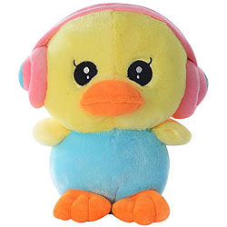 Sensational Duck with an Earphone