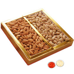 Dry Fruits 200 Gms. Almonds and Resins.