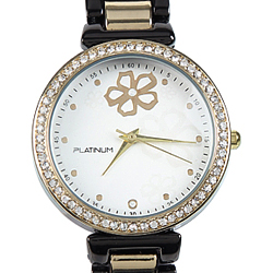 Glamourous Ladies Watch decked with American Diamonds