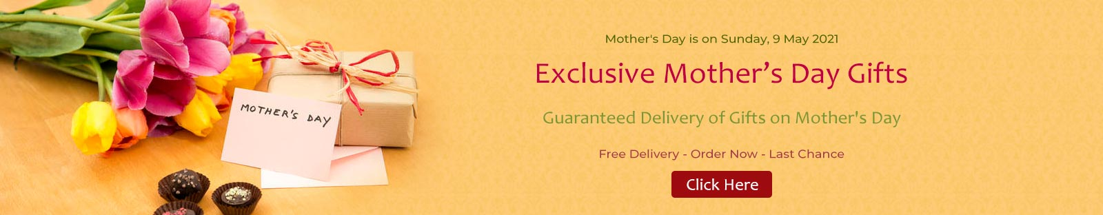 Send Mother's Day Gifts to Hyderabad � Same Day & Mid Night Delivery